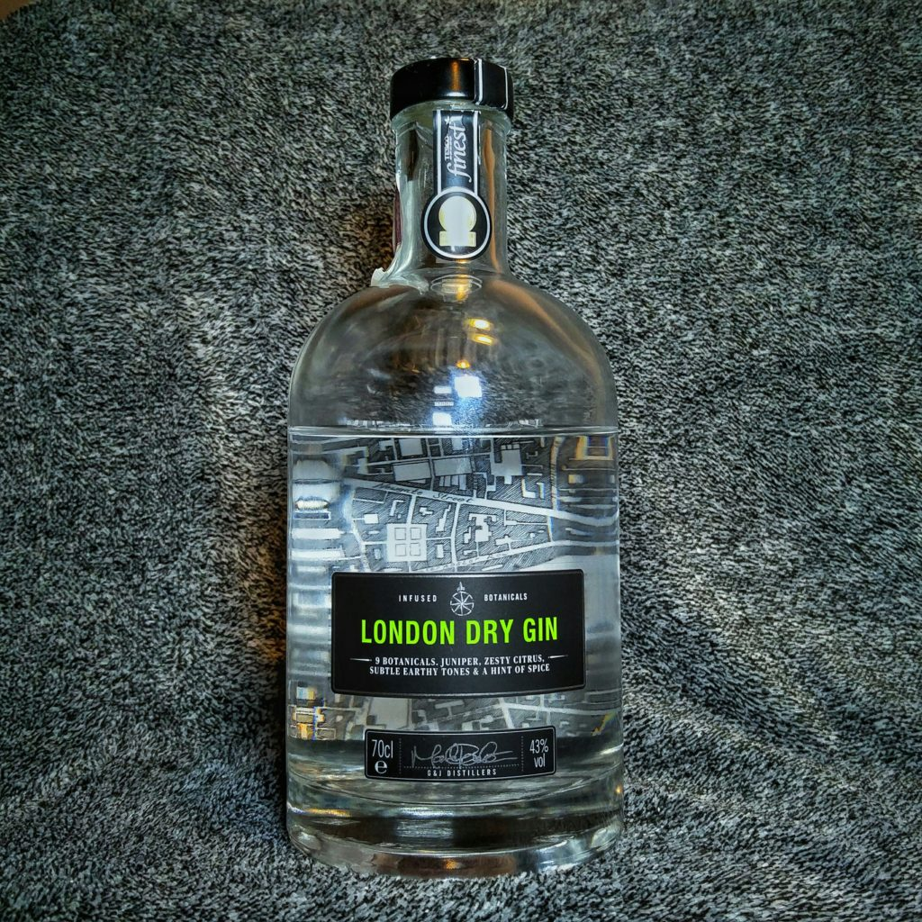 Finest Tesco London Dry Gin